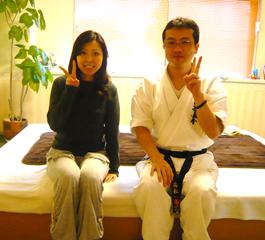 笠井さんと院長