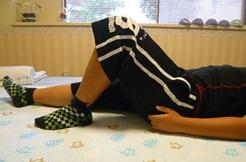 オスグットによる膝痛の状況確認1回目