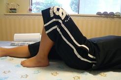 オスグットによる膝痛の状況確認2回目